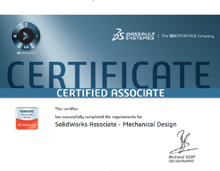 Come Along Test Your Skills Solidworks Cswa Exam
